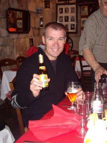 Marks last beer in Paris