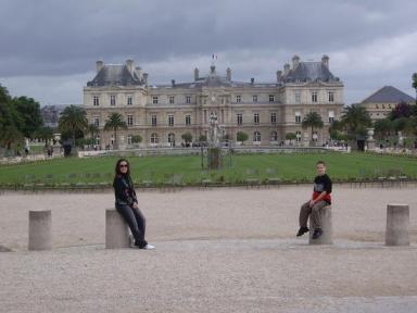 Luxembourg Palace, Catherine de Medici's place