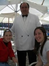 Danny, our favourite waiter