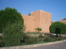 Part of the 9km of wall around Medina