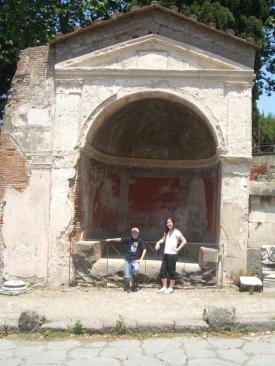 Us at pompei
