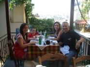 Dinner in Plaka on second night
