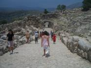 Agamemnon's gate and walk way