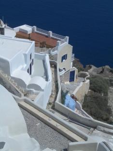 Picture post card Oia