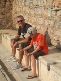 Tom and Mark on ancient latrines
