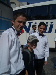 Our bus boys
