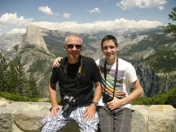 Tom and Mark and the Half Dome.