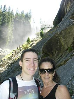 Vernal Falls on 'The Mist Trail'