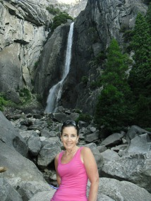 Up at the Yosemite Falls.