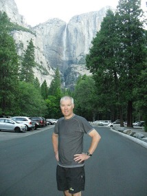 Yosemite Falls...am walk.