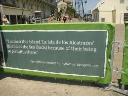 Alcatraz: derivation of name