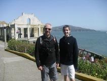 Landing at Alcatraz