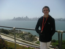 Tempting view of SF from Alcatraz!