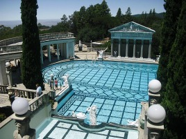 Hearst castle: outdoor pool