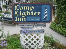 Leaving the Lamplighter Inn :-(