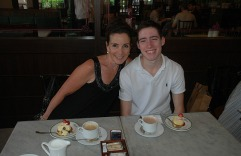 Afternoon Tea at Raffles.