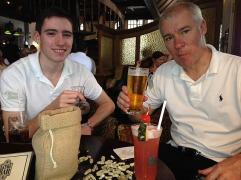 Boys at the Long Bar.