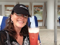 Becoming quite the expert on the Singapore Sling!