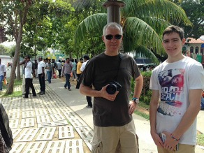 The start of our 'Little India' walk.