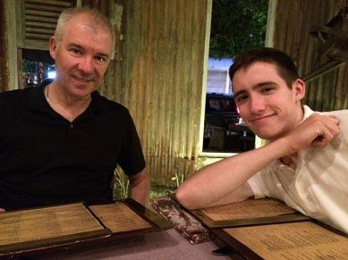 Boys at 'Balique' Restaurant