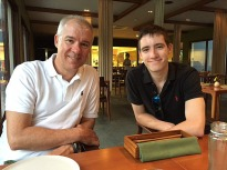 Boys at 'Cuca' Restaurant