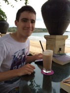 Tom's first Happy Hour...in Bali!
