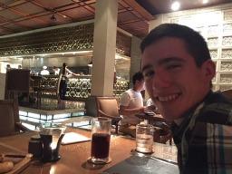Tom at Sandara dinner