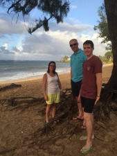 The beach at Paia