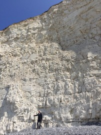 Spectacular cliff front at Birling Gap.