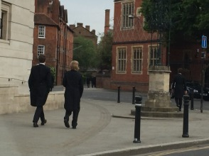 Morning on the streets at Eton.