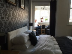 Our room at Eton: The Crown and Cushion.