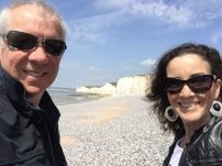 Us at Birling Gap.