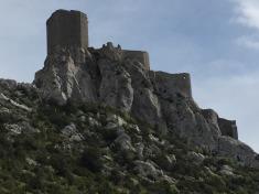 A Cathar Castle.