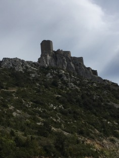 One of the Cathar Castles.