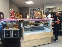Inside the Boulangerie.