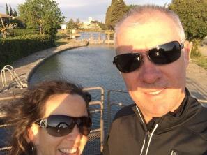 Morning walk along the Canal du Midi.