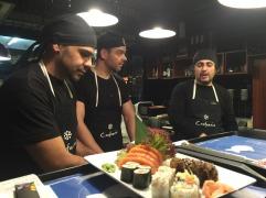 Sushi too!