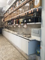 Life staples: wine & salted Cod.