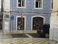 Nice tiles too on the oldest bookshop in Europe!!
