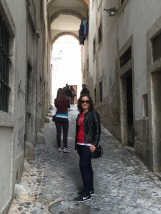 Mary in Alfama district.
