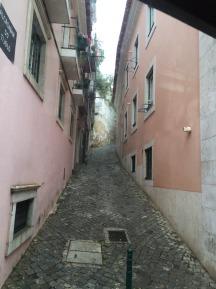 Narrow streets.