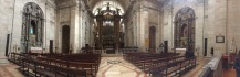 Pano of St Vincent's altar.