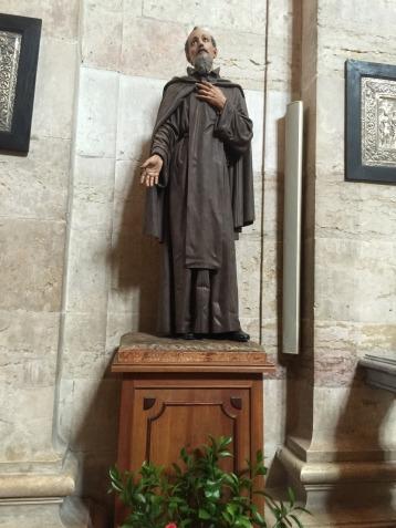 St Vincent himself.