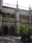Cloister at Pena Palace.