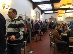 Always long queues at Pasteis de Belem