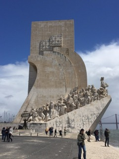 The Discovery Monument.