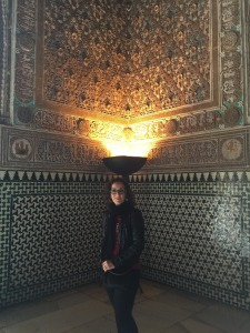 Beautiful Moorish influence in Alcazar.
