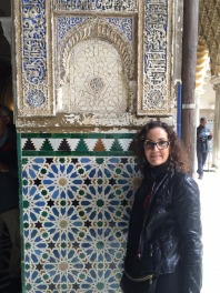 Beautiful tiles in the Alcazar.