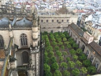 View from trip up to Giralda Tower.