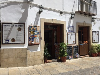 Front of the restaurant.